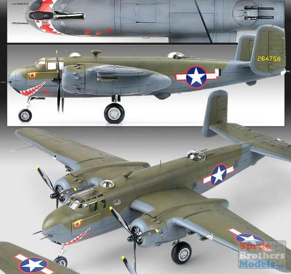 Eduard 1//48 North American B-25G Mitchell Detail set for Italeri kits