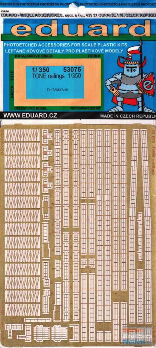 Eduard Models Tone Railings Photo-Etch