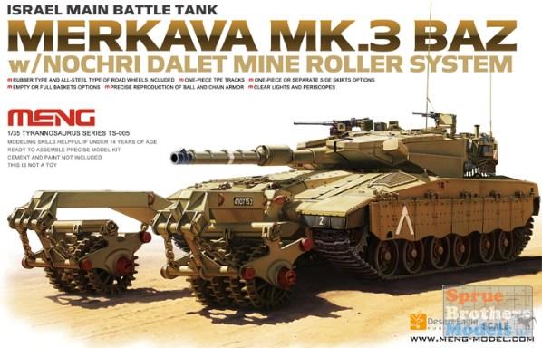 Israeli Nochri Degem Dalet Mine Roller Meng Model 1:35 MNGSPS-021
