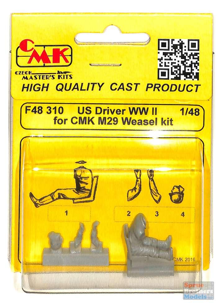 Cmk F48310 résine 1//48 us pilote wwii for cmk weasel kit