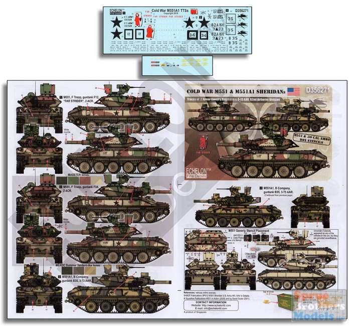 Echelon D356273 1//35 US Army M1A1s in Desert Storm Cowabunga!