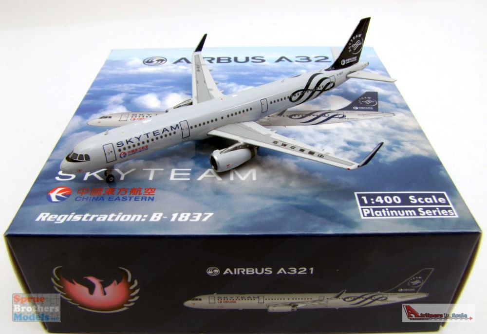 Phoenix Model PHX11608 1:400 Air Busan Airbus A321neo Reg #HL-8366 pre-Painted//pre-Built